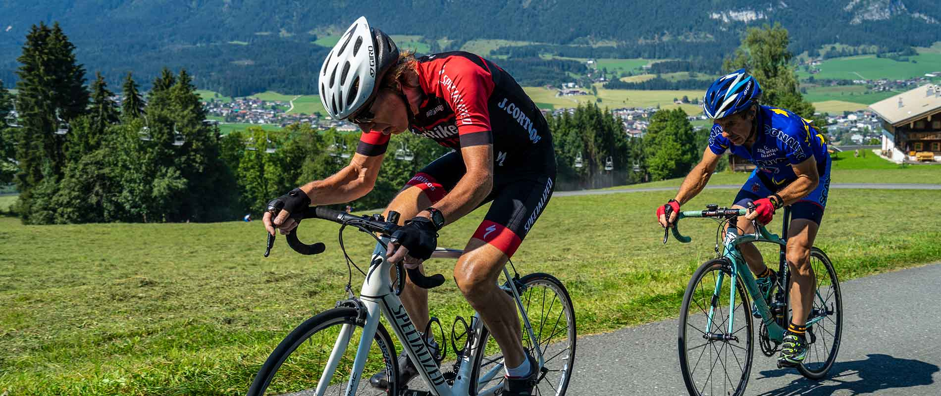 Ride Uphill at the Bergsprint